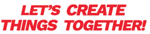 Lets create things together ineedit